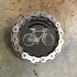 Round Inner Tube Roadie Buckle