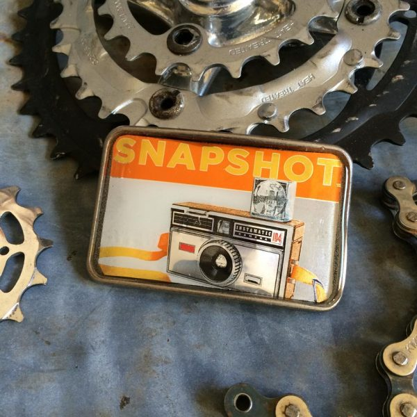 Fat Tire Snapshot Beer Buckle