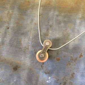 Chain & Washer Necklace